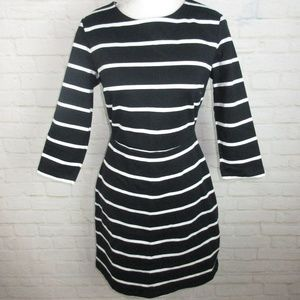 Old Navy size M Black and White Striped Dress